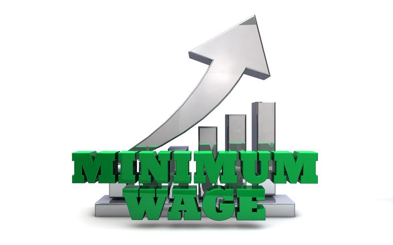 National Minimum Wage Bill of 2017 effective 1 May 2018