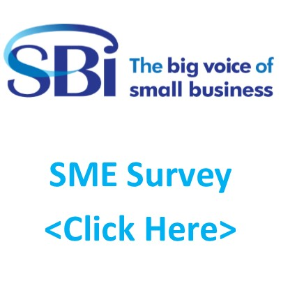 SBI requests SMEs to complete a survey to establish challenges