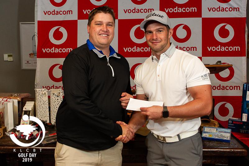 Justin van Staden shines at Golf Day