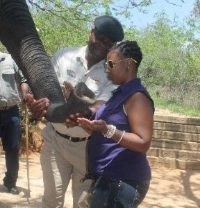 Sponsor a Blind Person to enjoy a tour of Kruger National Park