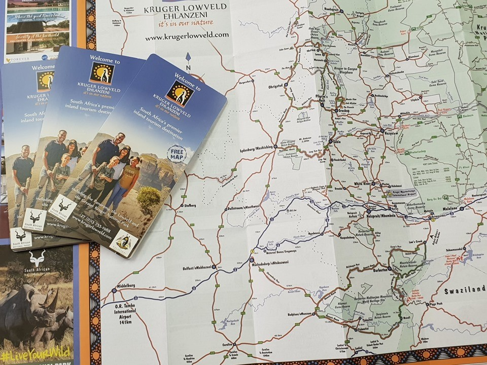 Latest edition of Kruger Lowveld Ehlanzeni's popular Z-card map is now available