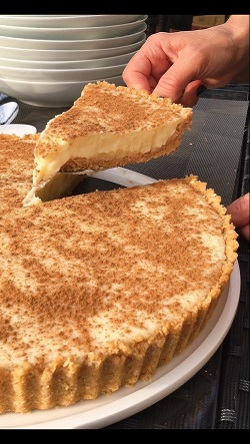 Is your milk tart up to the challenge? Milk tart bake-off @ Canary Walk Mall