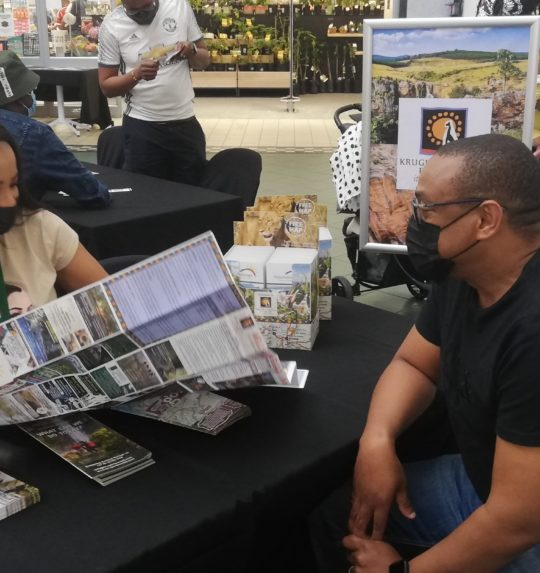 Kruger Lowveld promoting to locals