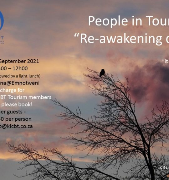 Provisional Programme for the Tourism Re-Awakening Day